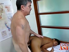 Handsome 28yres old twink gets his ass barebacked by horny doctor