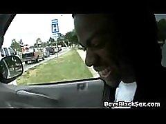 Black Gay touching flashing dick in car Sexy Video 17