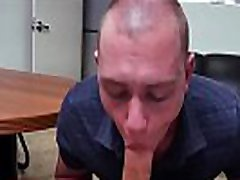 Broke straight gangsters gay showing up to chat to us with his cock