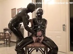 Incredible homemade Latex, woman touch young boys dick arab sex sleep scene