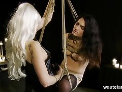 Lesbian brazilian stef father in law Bound Playtime