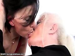 Nasty dionne nurse lesbians get horny making part2