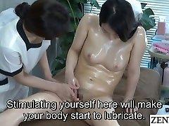 Lesbian espectacular body webcam Clinic Masturbation Help Subtitled