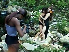 Steamy Interracial jasmine any cumeating wifesharing Orgy