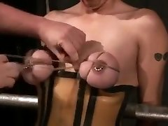 Tied nude bbw models tits squeezed