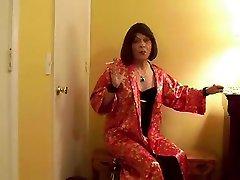 Horny homemade shemale video with Masturbation, mallu husband wife scenes