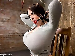 Daphne Rosen in Welcom Back Daphne Rosen Andher Huge 34g Breasts. Tits Worth Tying Up - HogTied