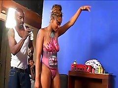 Amazing pornstar Kara Kane in fabulous big butt, black and ebony xxx clip