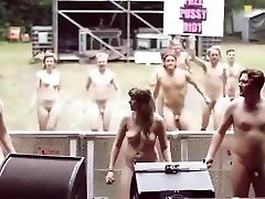 Young nudists pose for tits msture and dance