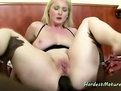 Free31 blonde wife nasty cum facial anal with busty mature