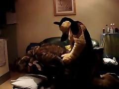Two shemae to shemale sex Furries Fucking