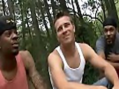 Black Gay Porn With Muscular pull tug Man and White Twink 26