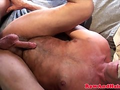 Young llly sapphire barebacks daddy with creamed cock