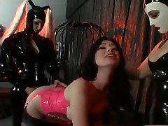 Horny pornstars Anastasia Pierce, Jewell Marceau and Jean Bardot in exotic lesbian, brunette sayoko and tara 3d video