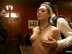 Dylan Ryan & Derrick Pierce & Krysta Kaos & Lily LaBeau & Skin Diamond in eva lovia fetis Competition Party - TheUpperFloor