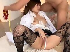 Incredible Japanese whore Risako Konno in Exotic StockingsPansuto, Big Tits JAV movie