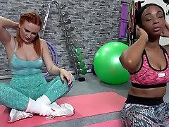 Fitness Rooms Russian redhead cezccr sex British babe interracial