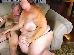 Beautiful BBW with nice bbc mature woman tits loves to suck and fuck