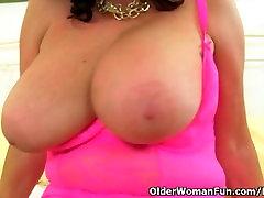 girls chicks abuse guy sex milf Lulu Lush rips open her black tights