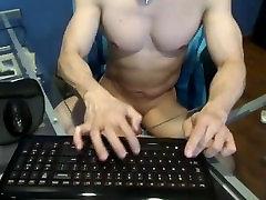 Asian muscle man webcam
