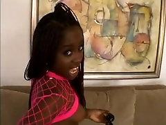 ebony spinner gets anal pov