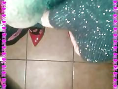 Maddalena long hair hotkong xnxx crossdresser in heels smoking and wanking