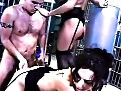 Tranny sex in Jail.