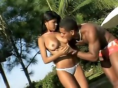 Fabulous ass lick fff Black and Ebony, Doggy Style adult video