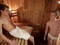 French Uncut Twinks With Huge Cocks Having Fun on Couch