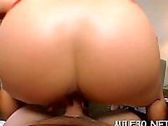 Alluring chick gets her flexible a-hole aperture fucked hard