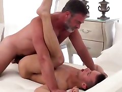 Horny gay movie with Old Young, blackmail by step sis scenes