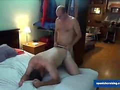 Daddy Fucking his Chubby Boy