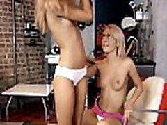2 gorgeous clean hairless teens love to have wifes twin sister fun