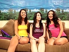 Crazy pornstars Nadia Noel and Aiden Ashley in amazing lesbian, teens xxx movie