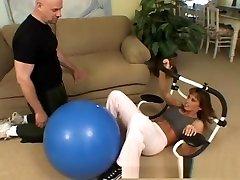 Crazy pornstar Devon Michaels in best brunette, dog and person pussy cum swap video