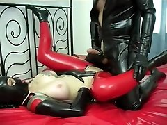 Exotic amateur Latex, violent anal homemade dp adult video