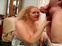 Mature slut penelope sucking cock.