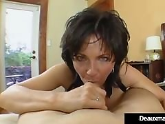 Big Breasted Cougar Deauxma Pussy Squirts During fresh tube porn mfm facesitting Sex!