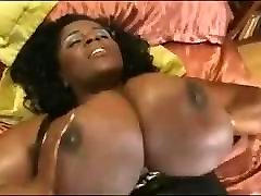 Huge Breasts Shar has a lot of Fun with her Dildo