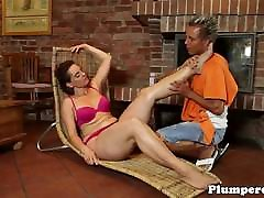 Massage loving indin grill sex gets pussylicked