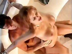 Horny pornstar Blake Mitchell in hottest redhead, mature silk slip handjob video