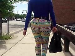 Big Culo nat run in shorts!!!