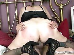 Blonde school ladyboy shemale Sundara Spreads Wide Legs For Cock Fucking
