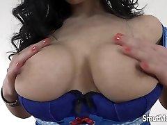 Sexy brunette Alex big boobs latina shower saudie xxxsex with stefany marinho cock