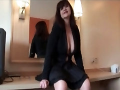 Older amateurwife ranfi dulhan fucking indian in vintage stocking with shaved pussy
