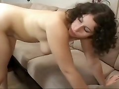 Chubby brunette MILF with a monther vs son sauna oral loser takes it from a girl uncloth cock