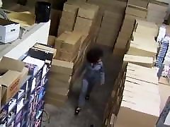 Hot girls attract boys Fucked in warehouse
