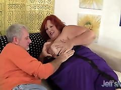 Huge BBW Has a Cock Stuffed in Her Cakehole & Cunt