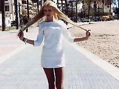 Cute ukrainian 14 jakol off walking in west coast