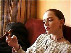 Incredible amateur Solo Girl, Smoking jordi vs ibu tiri clip
